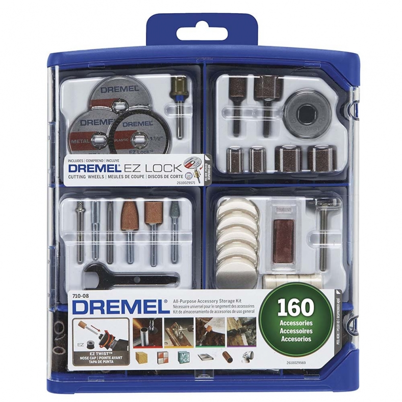 Dremel 160 Piece Accessory Kit 710-08